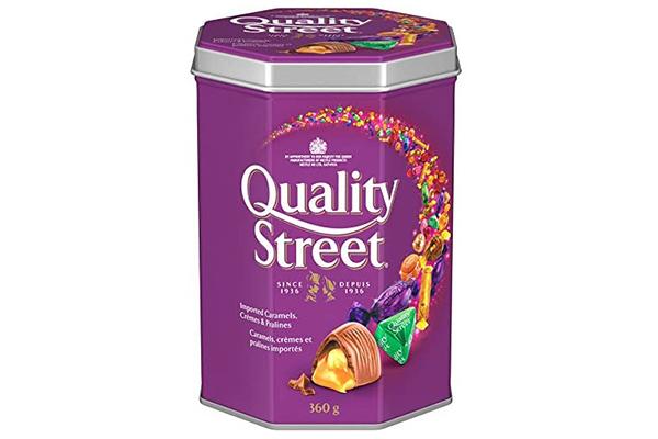 Free Christmas Candy Tin