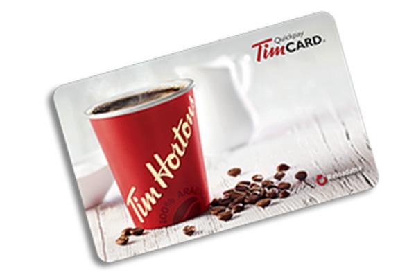 Free Tim Hortons Gift Card