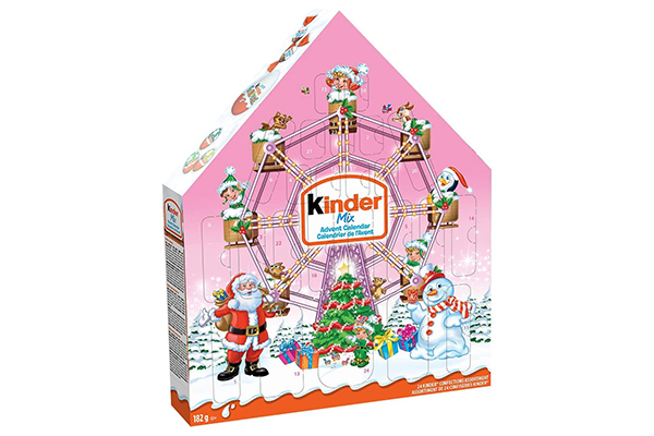 Free Kinder Christmas Advent Calendar
