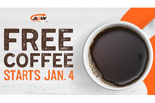 Free A&W Coffee