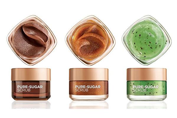 Free L'Oreal Pure-Sugar Scrub
