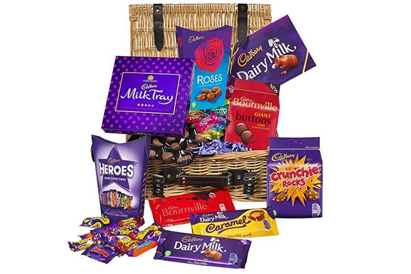 Free Cadbury Chocolate Hamper