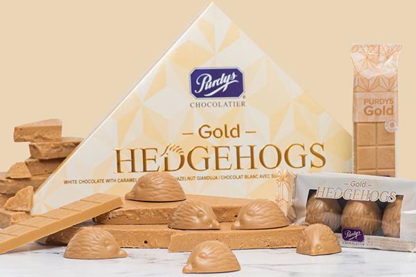 Free Gold Hedgehogs Chocolate