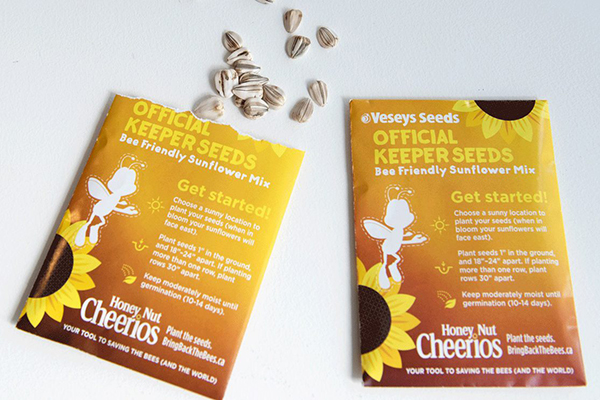 Free Cheerios Sunflower Seeds