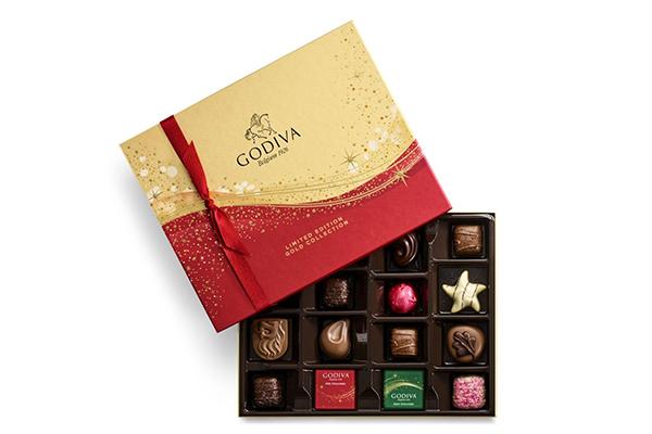 Free Godiva Chocolate Christmas Set