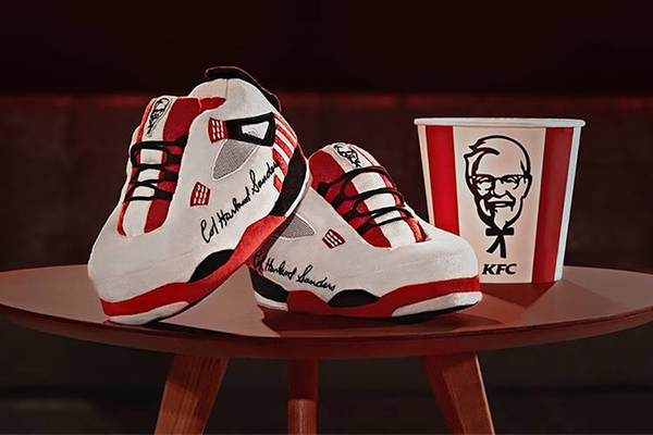 Free KFC Basketball Slippers