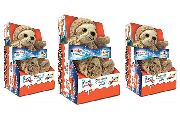 Free Kinder Sloth Toy
