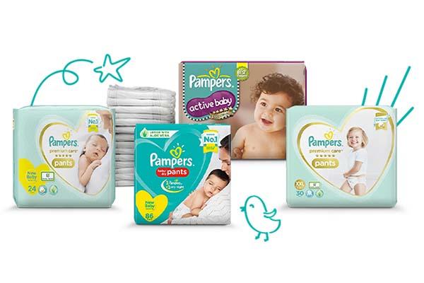 Free Pampers Newborn Sample Kit