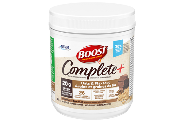 Free BOOST® COMPLETE+™ Chocolate Oats