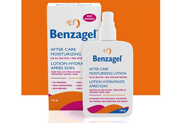 Free Benzagel® Moisturizing Lotion