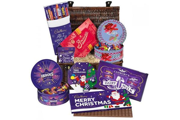Free Cadbury Christmas Hamper