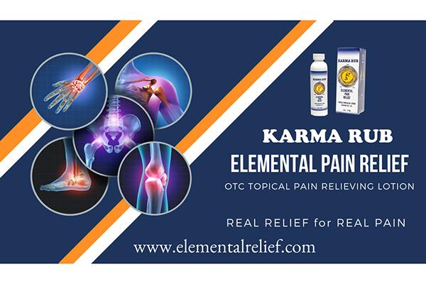 Free Elemental Pain Relief Cream