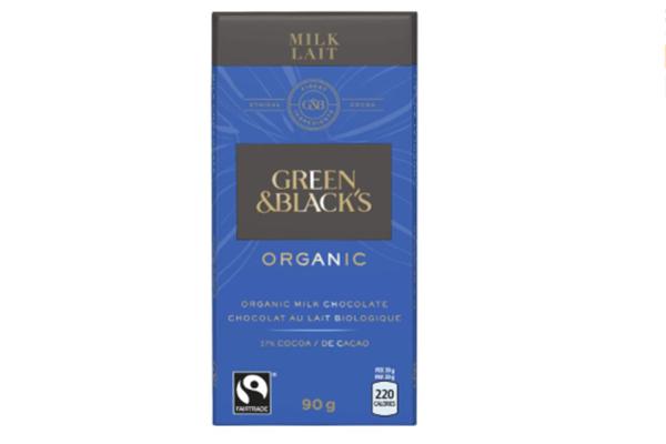 Free Green & Blacks Chocolate Bar