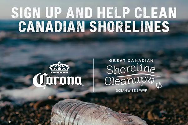 Free Corona Shoreline Cleanup Kit