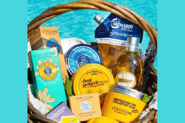 Free L'Occitane Beauty Basket