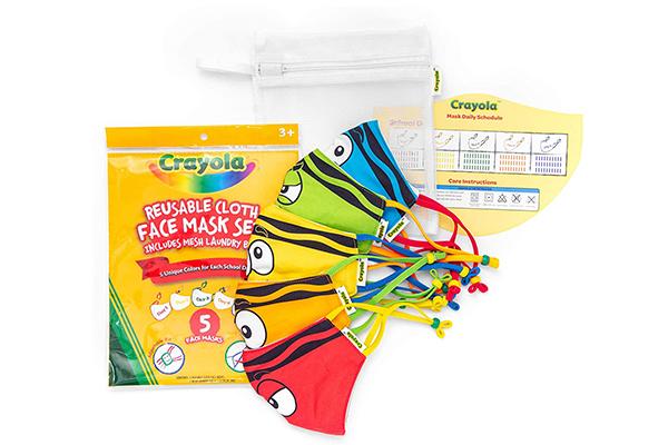 Free Crayola Kids Face Mask Set
