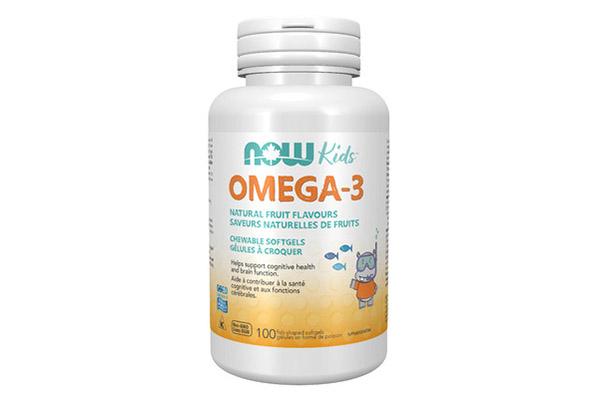 Free NOW Kidsᵀᴹ Omega-3 Chewable