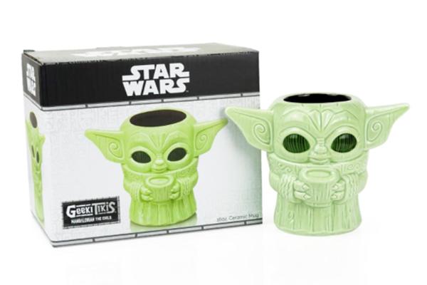 Free Baby Yoda Mug