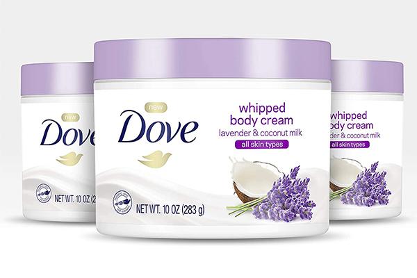 Free Dove Body Cream