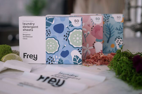 Free Frey Laundry Detergent Sheets