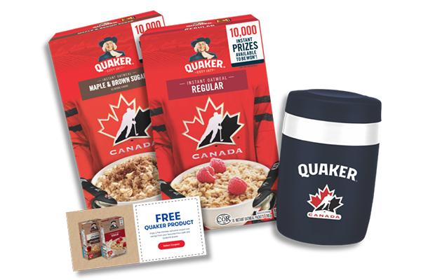 Free Quaker Oatmeal Travel Mugs