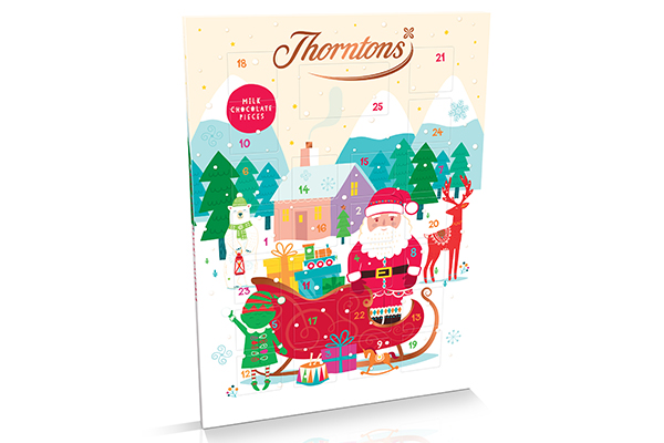 Free Thorntons Advent Calendar