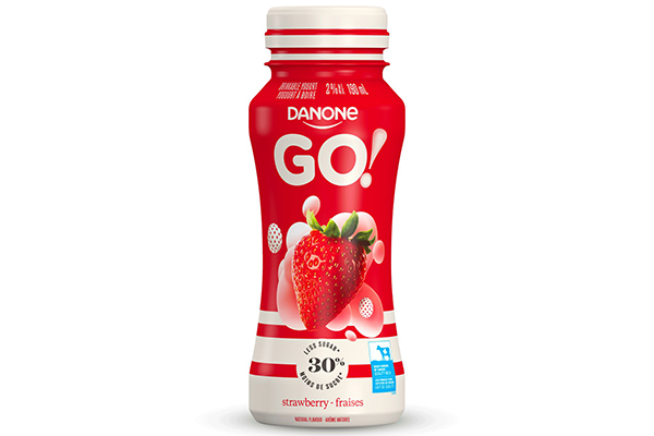 Free Danone Go Drinkable Yogurts